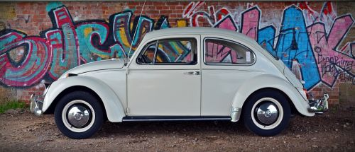 vw beetle graffiti