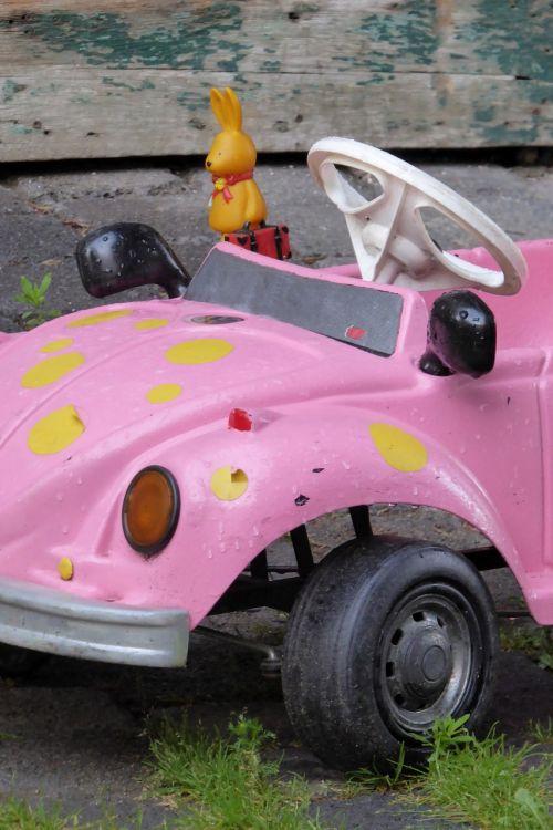 vw auto pink