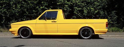 vw caddy custom car