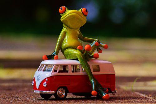 vw bulli frog
