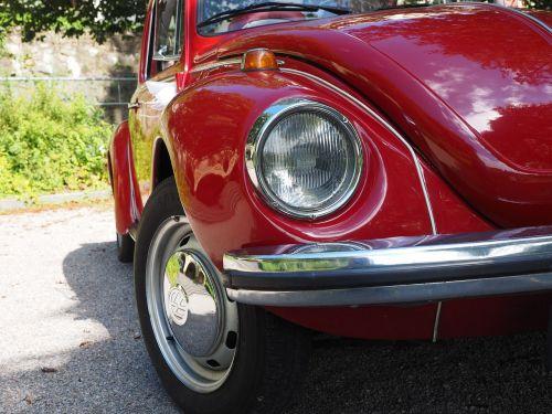 vw beetle auto lights