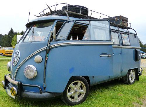 vw bus oldtimer cult vehicle