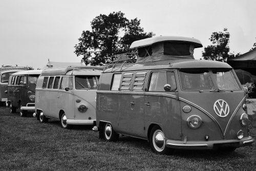 vw camper vintage car