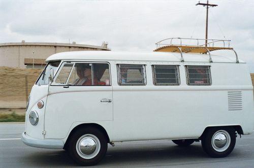 vw camper minibus bus