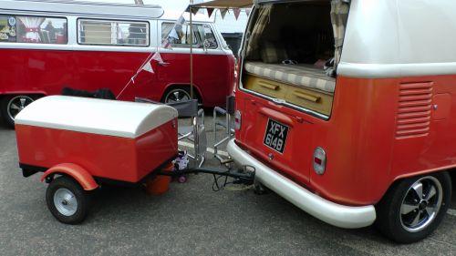 VW Volkswagen Camper Van Trailer