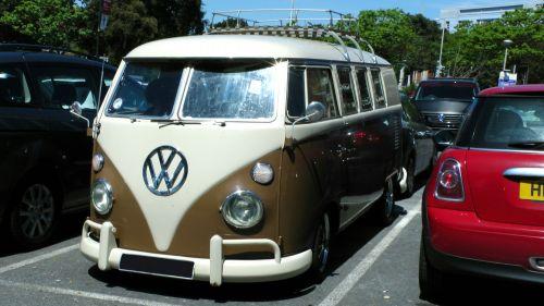 VW Volkswagen Vintage Campervan