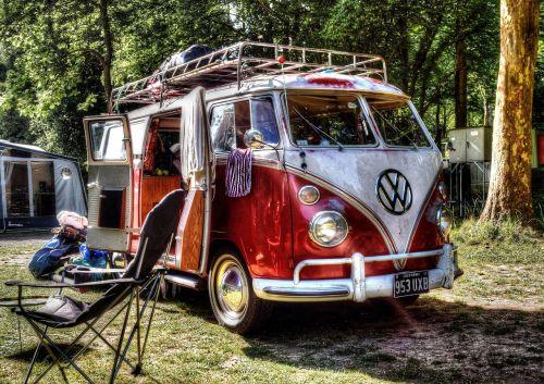 vwbus camping camper