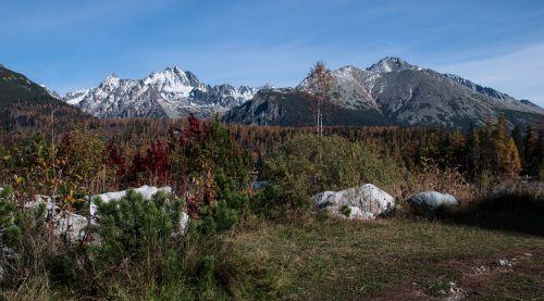 vysoké tatry mountains slovakia