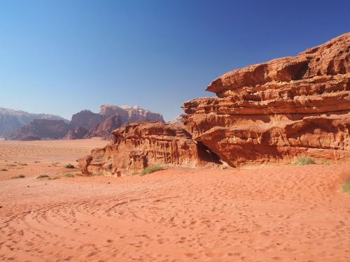 wadi rum jordan desert