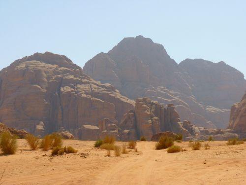wadi rum negev negev desert
