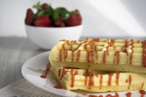 wafer  viennese waffles  dessert