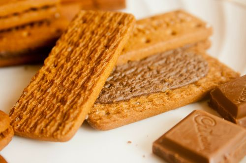 wafers chocolates cream
