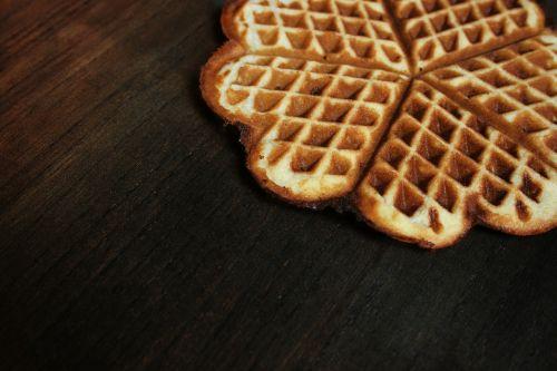 waffle herzchen baked