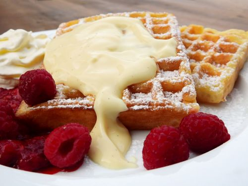 waffles belgian belgischewaffel