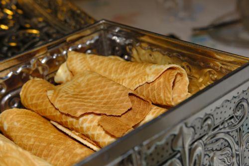 waffles pastries dessert