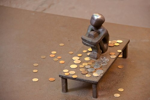 wage  money  coins
