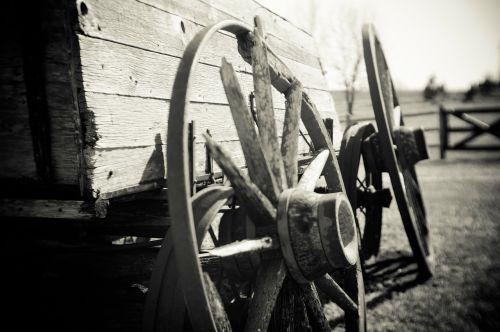 waggon wheels waggon old