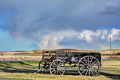 wagon alberta antique