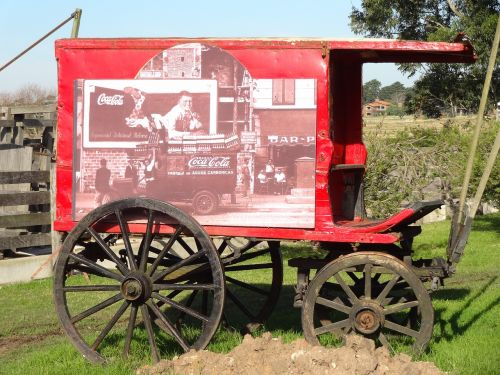 wagon coca-cola farm it pataia