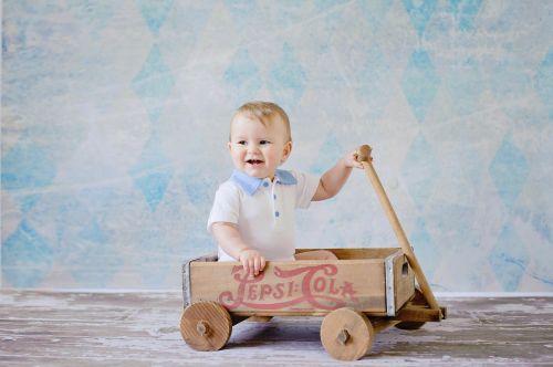 wagon kid cute