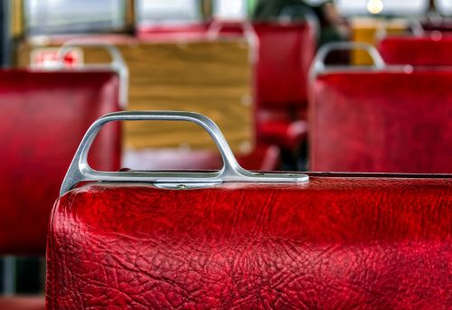 wagon seat red