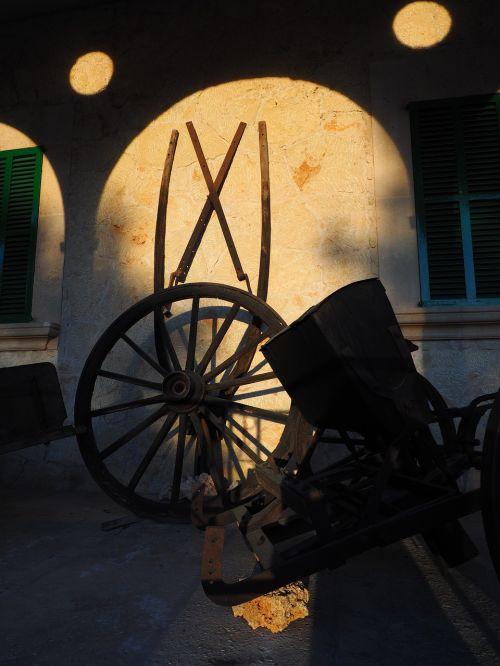 wagon wheel farm agriculture