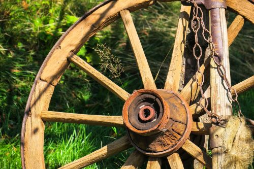 wagon wheel wheel wooden wheel