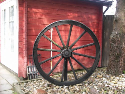 wagon wheel spokes farmhouse