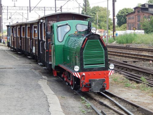 wagons narrow-gauge railway rails