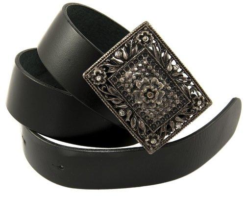 waist belt for women  leather strap  buckle metal bearing