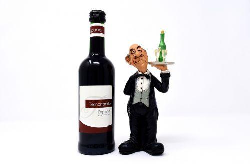 waiter wine serve