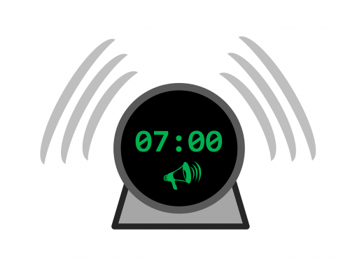wake up clock alarm