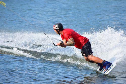 Wakeboard,vandens gyvūnai,veiksmas