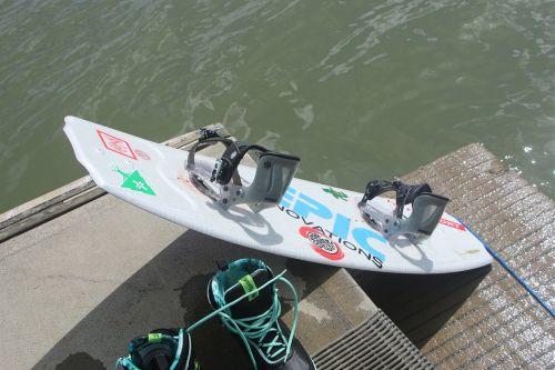 wakeboard wakeboarding water