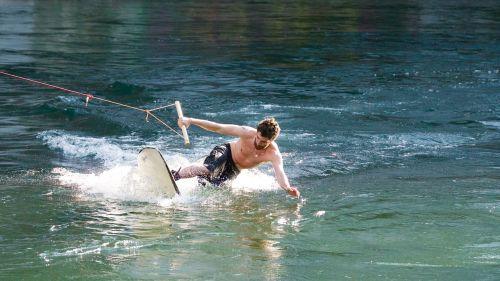 wakeboard water water sports