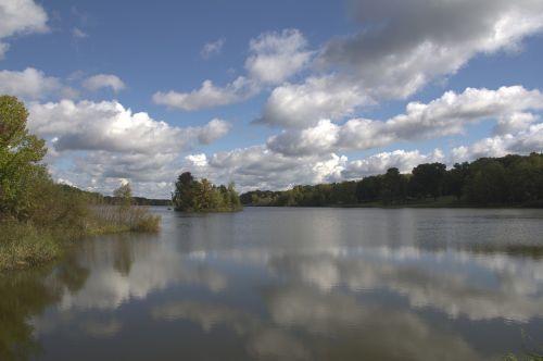 walborn reservoir ohio landscape