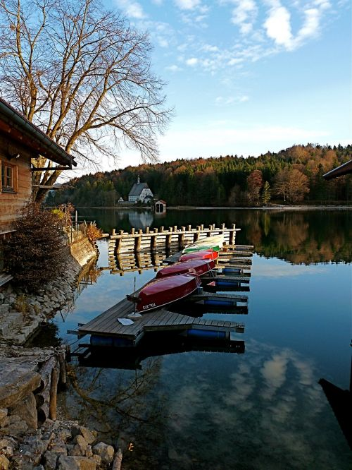 walchensee upper bavaria lake