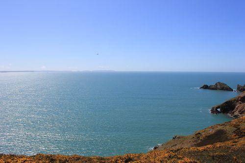 wales beach sunny