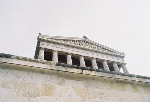 walhalla  monument  building