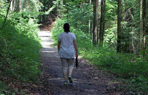 walk person woman