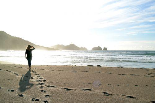 walk on the beach sand beach rock
