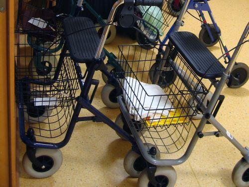 walker rollator retirement home