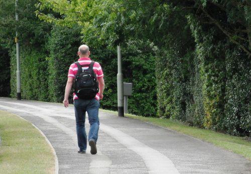 walking man pathway