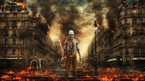 walking dead  resident evil  zombie