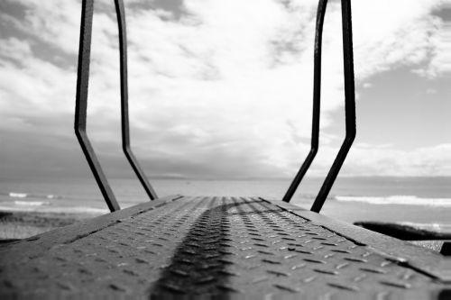 walkway pier sky
