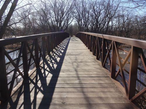 walkway wooden path