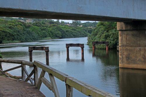 Walkway Across Lagoon