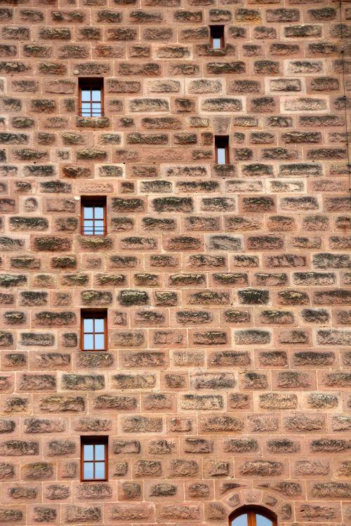 wall window city wall