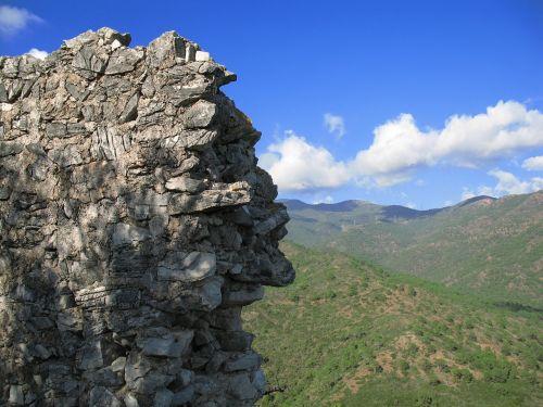 wall castle tart ruins