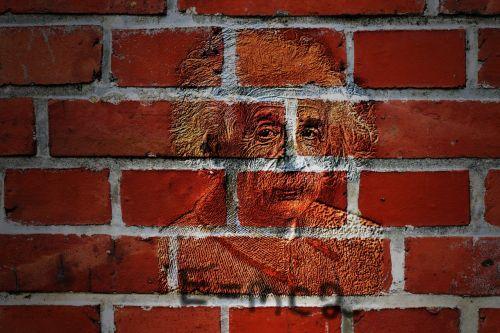 wall albert einstein 1921